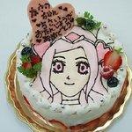 6073090 - 誕生日デコレーションケーキ プリキュア