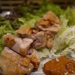 ひとひら - 大山地鶏ですわ。毎日食べたい(;´Д`)ハァハァ