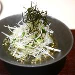 西麻布けんしろう - 海苔冷麺