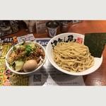 つけ麺 津気屋 - 野菜肉味噌つけ麺 12月の限定麺 味噌は川口御成街道味噌だそうです。