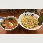 つけ麺 津気屋 - トムヤムクンつけ麺 9月の限定麺