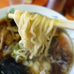 楠知 - ラーメンの麺 Up