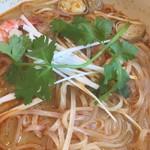 タイ・ベトナム料理の店 アジアの味 - トムヤム麺 セットで850円くらいだったかな