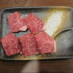 はらぱん - 特撰黒牛ひとくちステーキ 600円