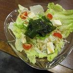 はらぱん - 豆腐サラダ(ワサビ) 400円
