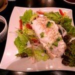 6074733 - 豆腐のサラダ