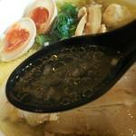 60741813 - 特性塩鶏中華そばスープ