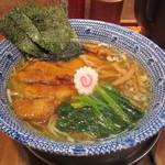 くじら軒 - パーコー麺薄口醤油味 1000円