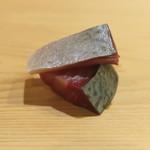 鮨 しゅん輔 - 福井県産 〆鯖