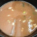 武道家 - 武道家 吉祥寺店 つけ汁に濃厚スープ割を加えて