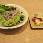 三重テラス - サラダと小鉢 三重のセレクト(鶏肉のテリーヌ)
