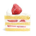 パティスリー SATSUKI - スーパーショートケーキの断面 '16 4月下旬