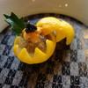 くりゑンテ - 料理写真:前菜1:鱈白子のヴァプール カリフラワーのムース・コンソメジュレ添え