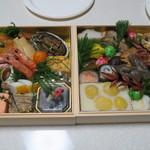 日本料理 太月 - 29年1月 お節 全景
