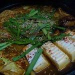 ゆた坊 - 【鶏キムチ鍋】・・・1人前 780円 辛いだけでなく、秘伝の出汁の旨味が自慢です!
