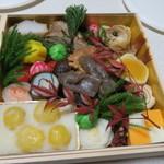 日本料理 太月 - 29年1月 お節二段重目