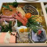 日本料理 太月 - 29年1月 お節一段重目