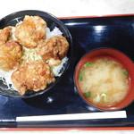 からあげ縁 - 甘辛丼(大) ¥720-