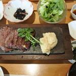 60750451 - 牛ヒレ肉の石焼御膳(                       2000円)
