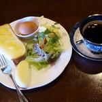古民家カフェほどほど - 料理写真:モーニングセット(400円)※お飲み物はキリマンジャロ