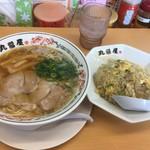 丸醤屋 - チャーハン定食税込950円