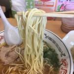 丸醤屋 - 自家製細ストレート麺