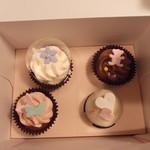 ニューヨークカップケーキ - 4種