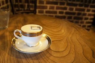 倉敷珈琲館 - 琥珀の女王と名付けられた水出しコーヒーをいただきました