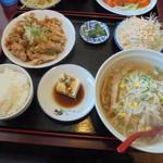 台湾料理 吉祥 - 料理写真:油淋鶏(ランチ)700円