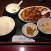 海外天 - 料理写真:麻婆豆腐定食201611