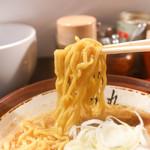 すみれ - 味噌ラーメンリフトアップ
