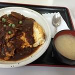 キッチンいさつ  - オムハヤシ¥800