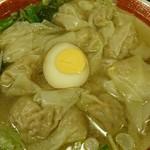 広州市場 - 雲呑麺塩♪
