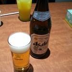 門司港レトロ食堂 - 瓶ビールで乾杯!