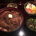 60759702 - 名物ビフテキ丼
