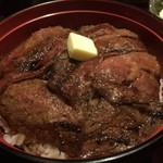 60759705 - 名物ビフテキ丼