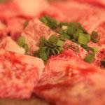 焼肉 晩餐館 - 仙台牛の上ロース1,890円