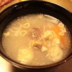 焼肉 晩餐館 - コムタンスープ