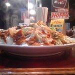 葉隠一番 - 回鍋肉丼特盛C