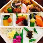なだ万厨房 - 料理写真:1月のお弁当  扇  税込¥2376