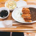 カレーハウス若菜 - 特製バリ辛カツカレー(600円)