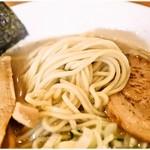 60763705 - プリッとした麺です。どんなスープに合いそうな感じ。