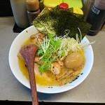 日の出らーめん - 2016年12月 鶏白湯SP(醤油) 1200円