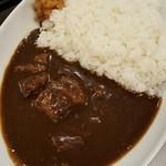 なか卯 - 料理写真:プレミアムビーフカレー大盛750円