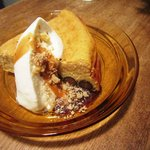 日々cafe - 黒豆ときなこのチーズケーキ