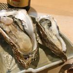 豊鮨 - 牡蠣食べ比べ