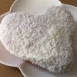 ミスタードーナツ - 手づくりイーストドーナツ ハートホワイト 162円