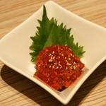 東京純豆腐 - チャンジャ(280円)2016年12月