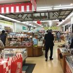 道の駅 さんりく - 物産販売コーナー