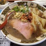 ラーメン凪 - すごい煮干しラーメン - 820円 -